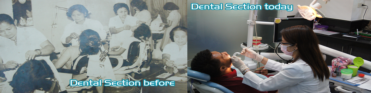 Dental Section Before and After